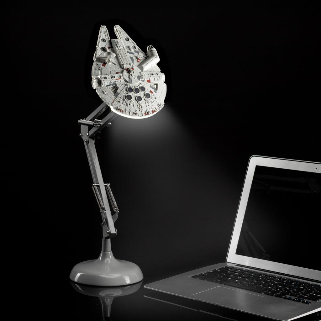 star wars millennium falcon desk lamp