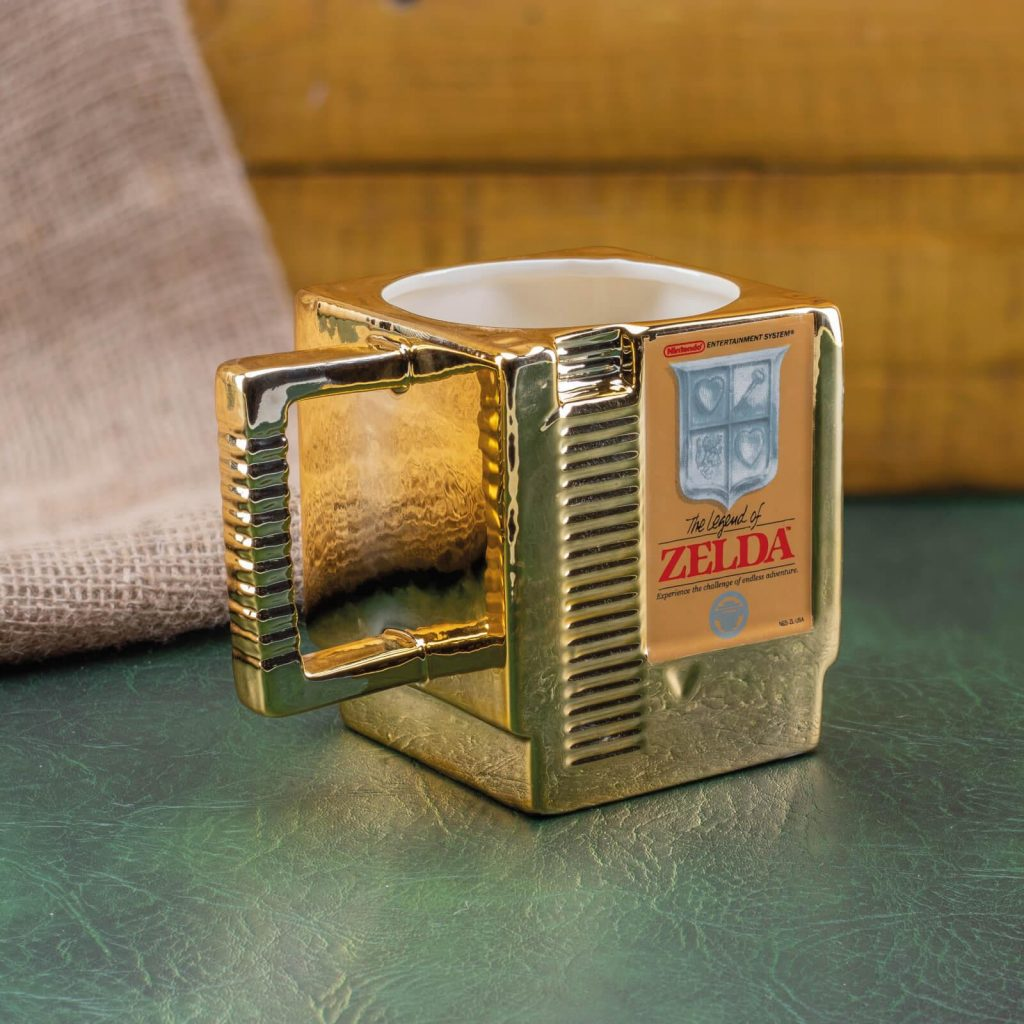 legend of zelda cartidge mug